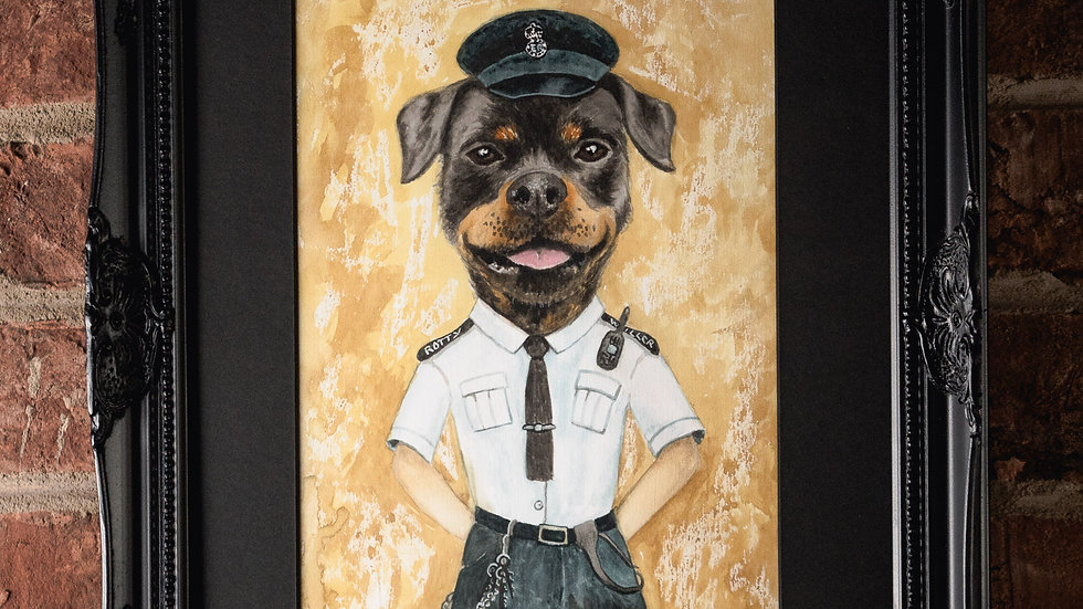 Rotty Prision Officer