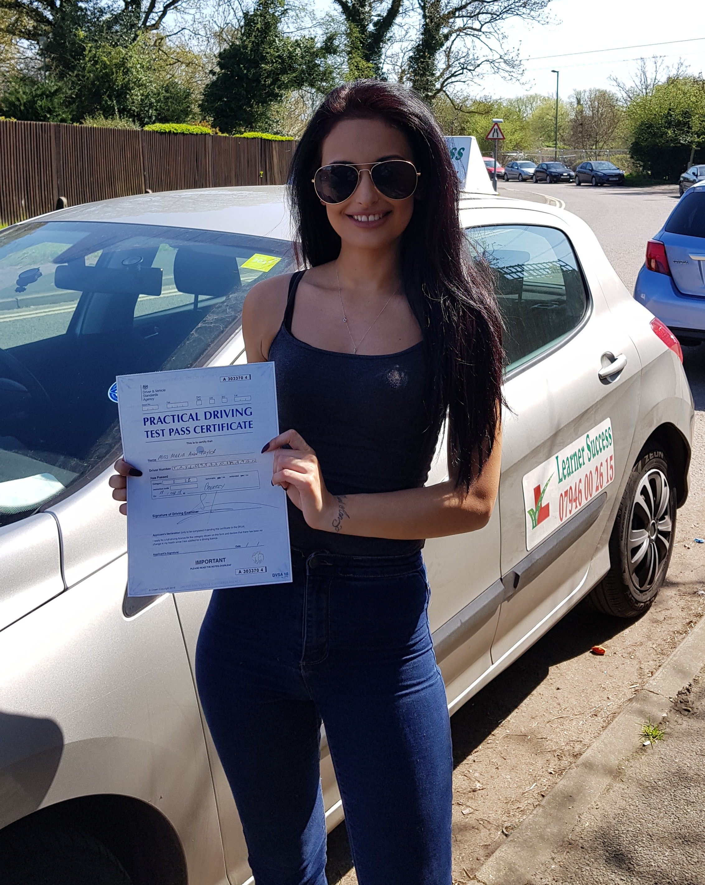 Maria passed at Chertsey