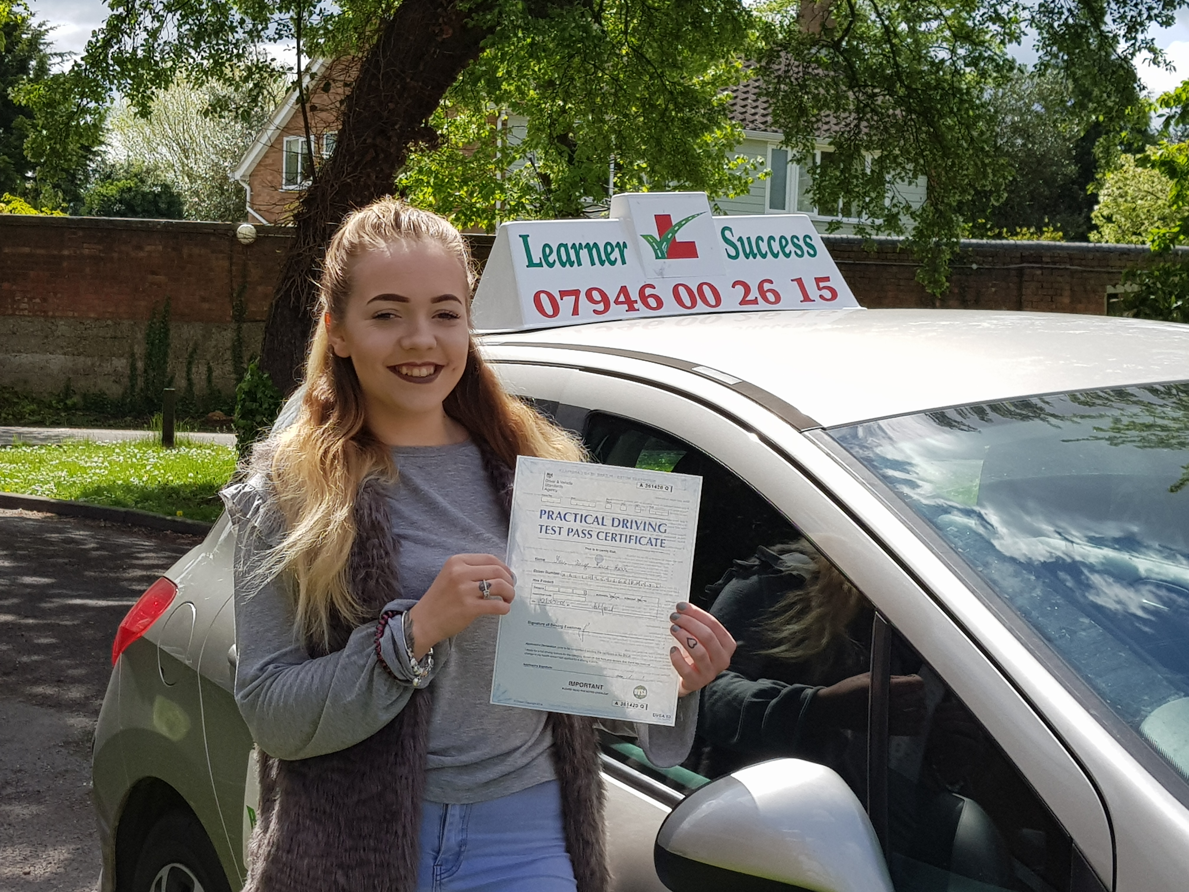 Paige passed in Ashford