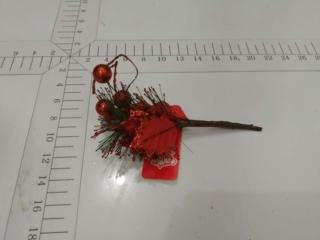 xmas pick poinsettia red