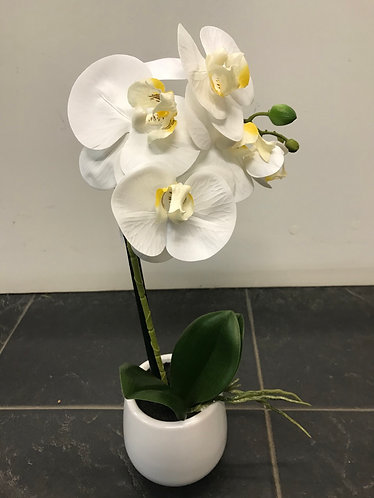 Artificial Orchid Single Spray