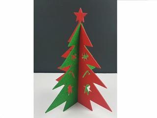 xmas tree no woven 29*24cm