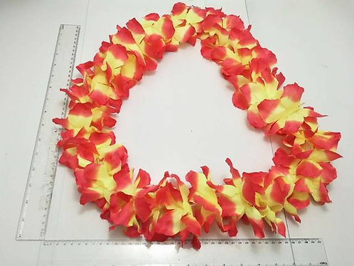 artificial lei yellow n crange