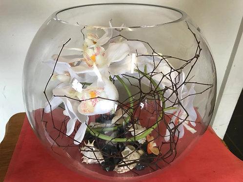 fish bowl  artificial