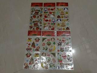 xmas sticker 13*28cm