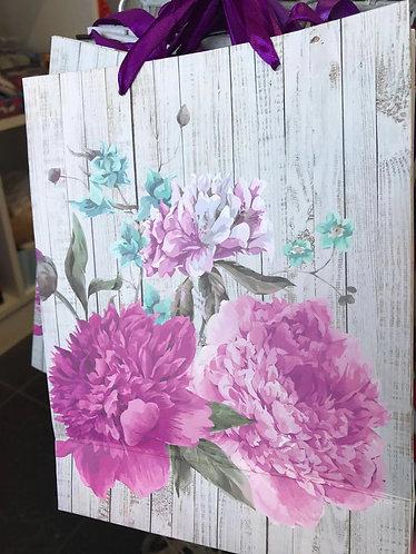 gift bag flower 18*23*8cm m