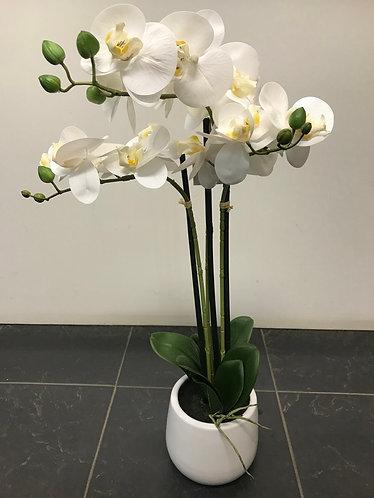 Artificial Orchid Triple Spray
