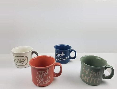 mug big ceramic words 8*10cm