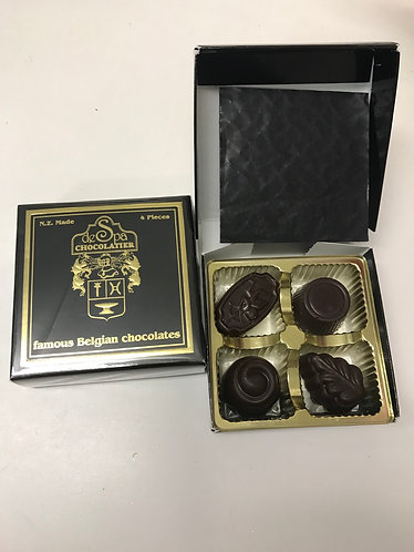 deSpa Handcrafted Belgian Chocolates 4p