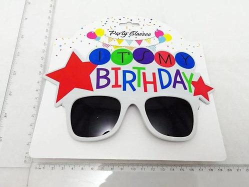 party glasses my birthday