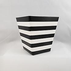 Black/White Stripe Box