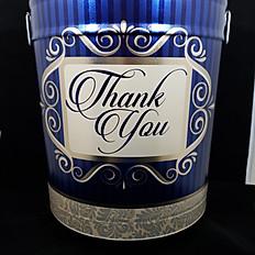 Thank You Tin 6.5 Gallon