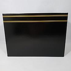 Black w/ Gold Stripe Box