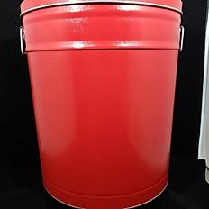 Red Tin 6.5 Gallon
