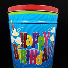 Happy Birthday Tin 3.5 Gallon