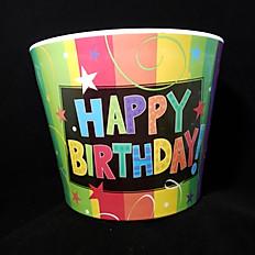 Happy Birthday Pot - 3