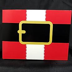 Santa Belt Box
