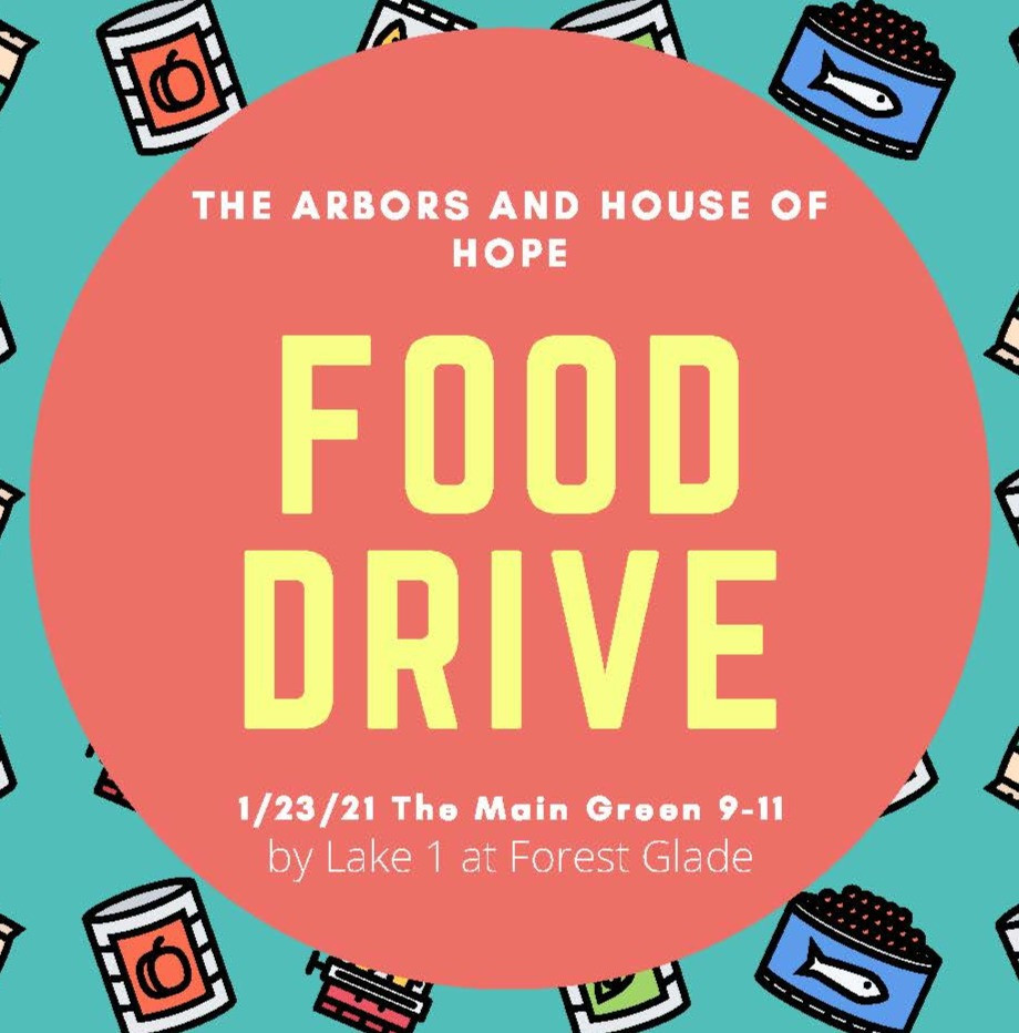 Copy of the Food Drive flyer