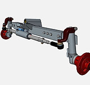25HP - 40HP, Hidrolik Kontrol, Power Steering, 2WD Traktör Ön aks seti, Axle, Tractor, Dingil, Onur Makina, Rot, Hidrolik Silindir, Silindir, Direksiyon Kolonu, Porya, Akson kolu, wheel hub