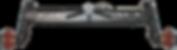 68HP - 75HP 2WD Traktör Ön aks seti, 2WD Tractor Front Axle Set