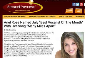 Singer Universe