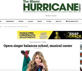 The Miami Hurricane