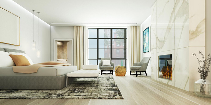46 East 65 - Master Bedroom