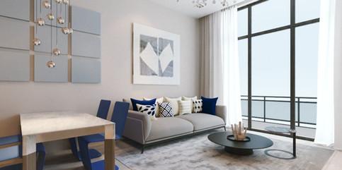 328 Atlantic - 2nd Fl Living Room