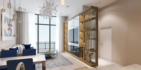 328 Atlantic - Living Room