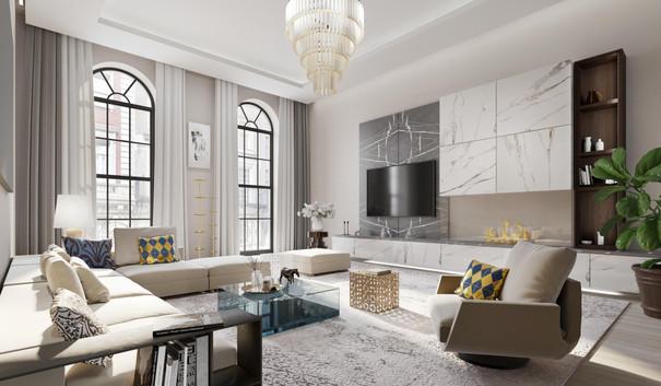 46 East 65 - Living Room