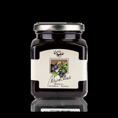 Alpe Pragas - composta di frutta Mirtilli neri 335 g.