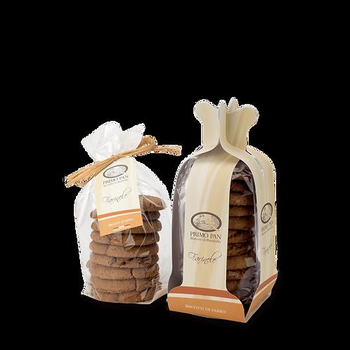 Farinele - Biscotti di farro - sacchetto 334 g.