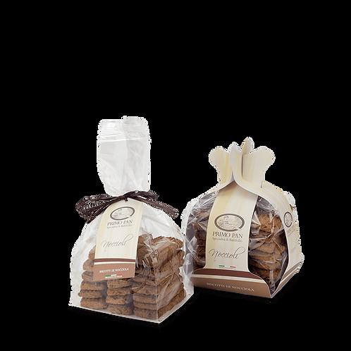 Noccioli - Biscotti con farina di nocciole - sacchetto 334 g.