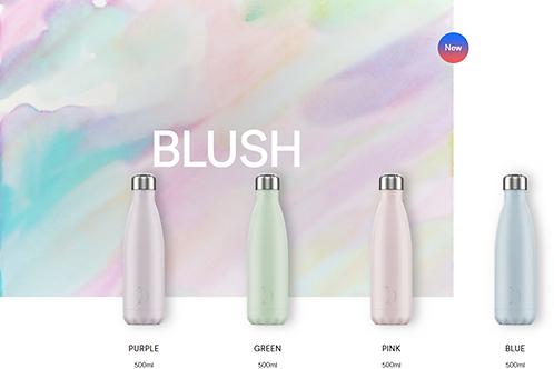 Blush - Purple, Green, Pink, Blue 500 ml.