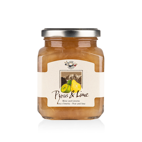 Alpe Pragas - composta di frutta Pera e Lime 335 g.