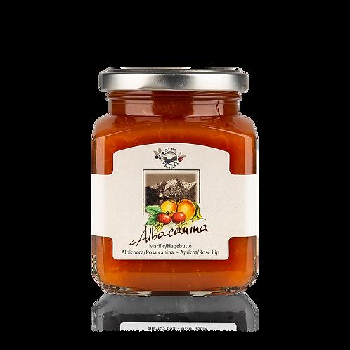Alpe Pragas - Composta di frutta Albicocca e Rosa canina 335 g.