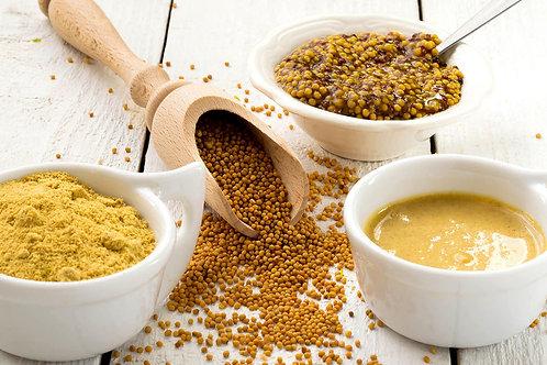 Senape gialla in granuli 80 g.