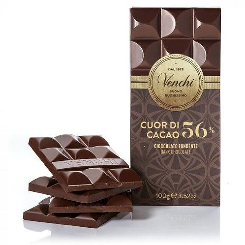Venchi - Tavoletta Di Cioccolato Fondente 56% 100g