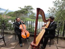 Arpa clásica y violonchelo