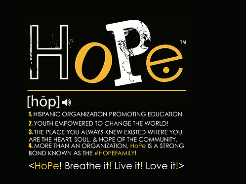 Definition of HoPe T-shirt