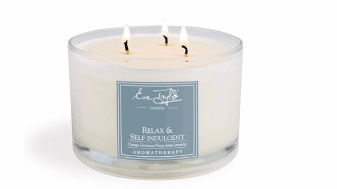 Relax & Self Indulgent 3 Wick AromaWax Candle