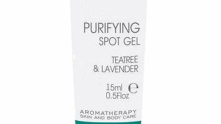 Purifying spot gel