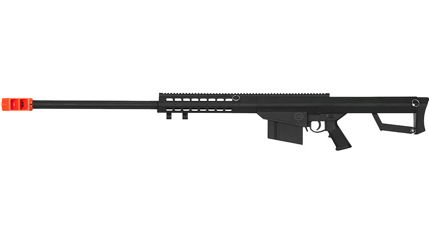 Lancer Tactical Airsoft M82 Spring Rifle (BLACK)