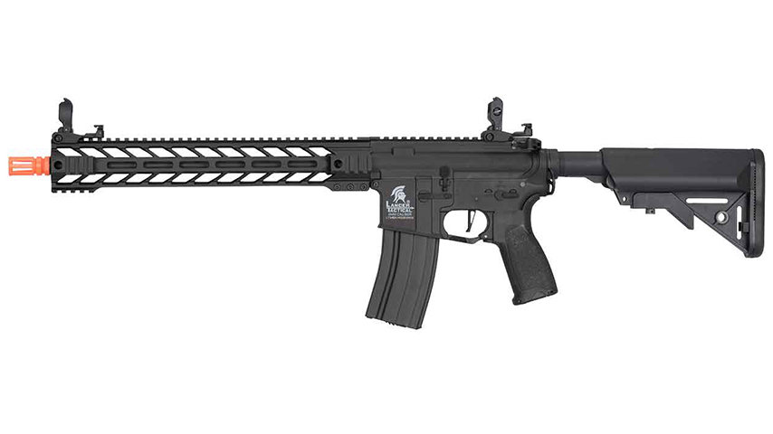 "Lancer Tactical Enforcer Hybrid Gen 2 BATTLE HAWK 14"" AEG (BLACK)"
