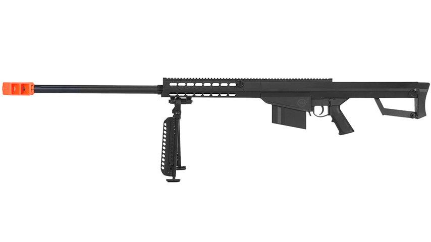 Lancer Tactical Airsoft M82 Spring Rifle w/ Bipod (BLACK)