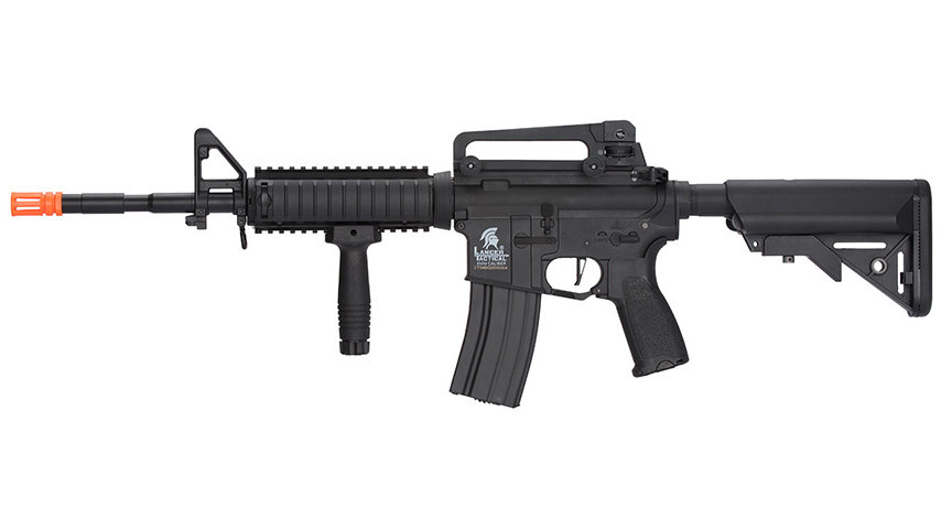 Lancer Tactical LT-04 Hybrid Gen 2 M4 RIS Airsoft AEG (BLACK)