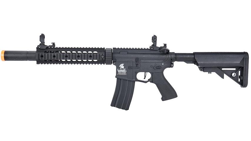 "Lancer Tactical LT-15 Hybrid Gen 2 M4 SD 9"" Airsoft AEG (BLACK)"