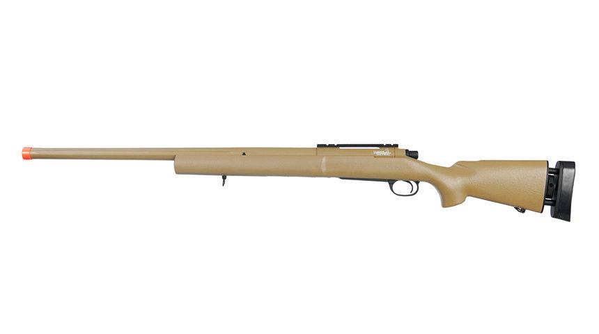 Lancer Tactical Airsoft M24 Bolt Action Sniper Rifle (TAN)