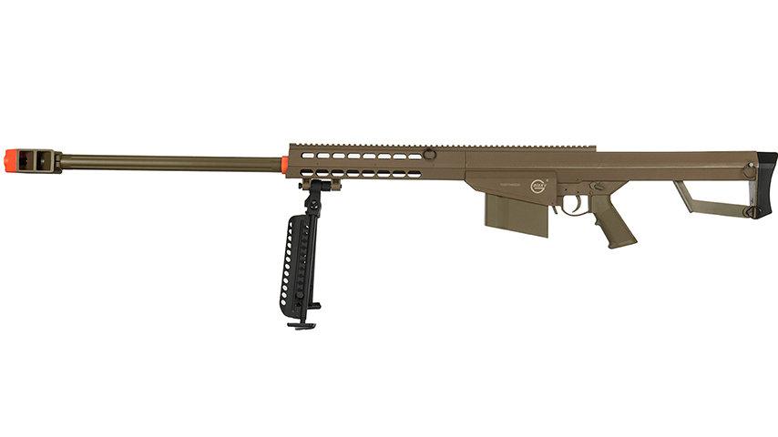 Lancer Tactical Airsoft M82 Spring Rifle w/ Bipod (TAN)