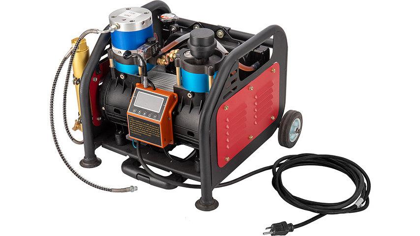 Lancer Tactical 110V Oil-Free PCP Air Compressor [1500 Watt] - 6000 PSI